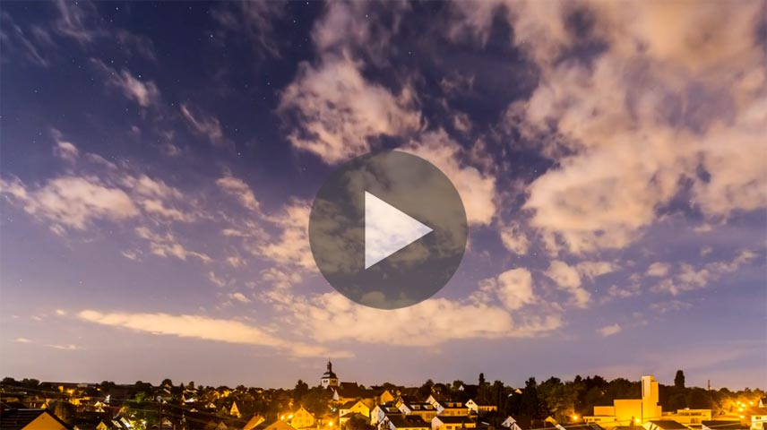 Video, Pilhartz - Erdmannhausen Timelapse